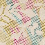 141 Pastel Floral Stripe