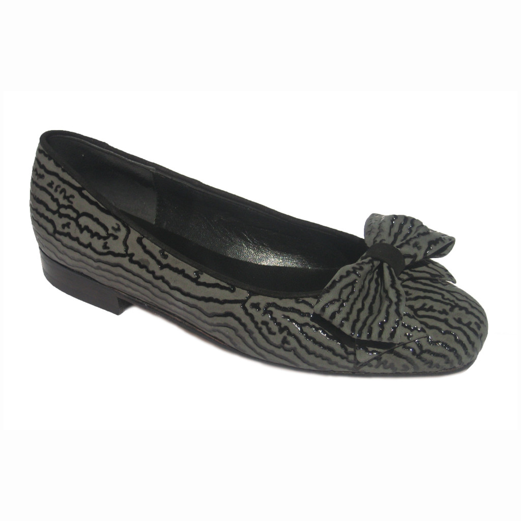 Margot + Carla Blk Grey Ripple Blk Suede + Ginney