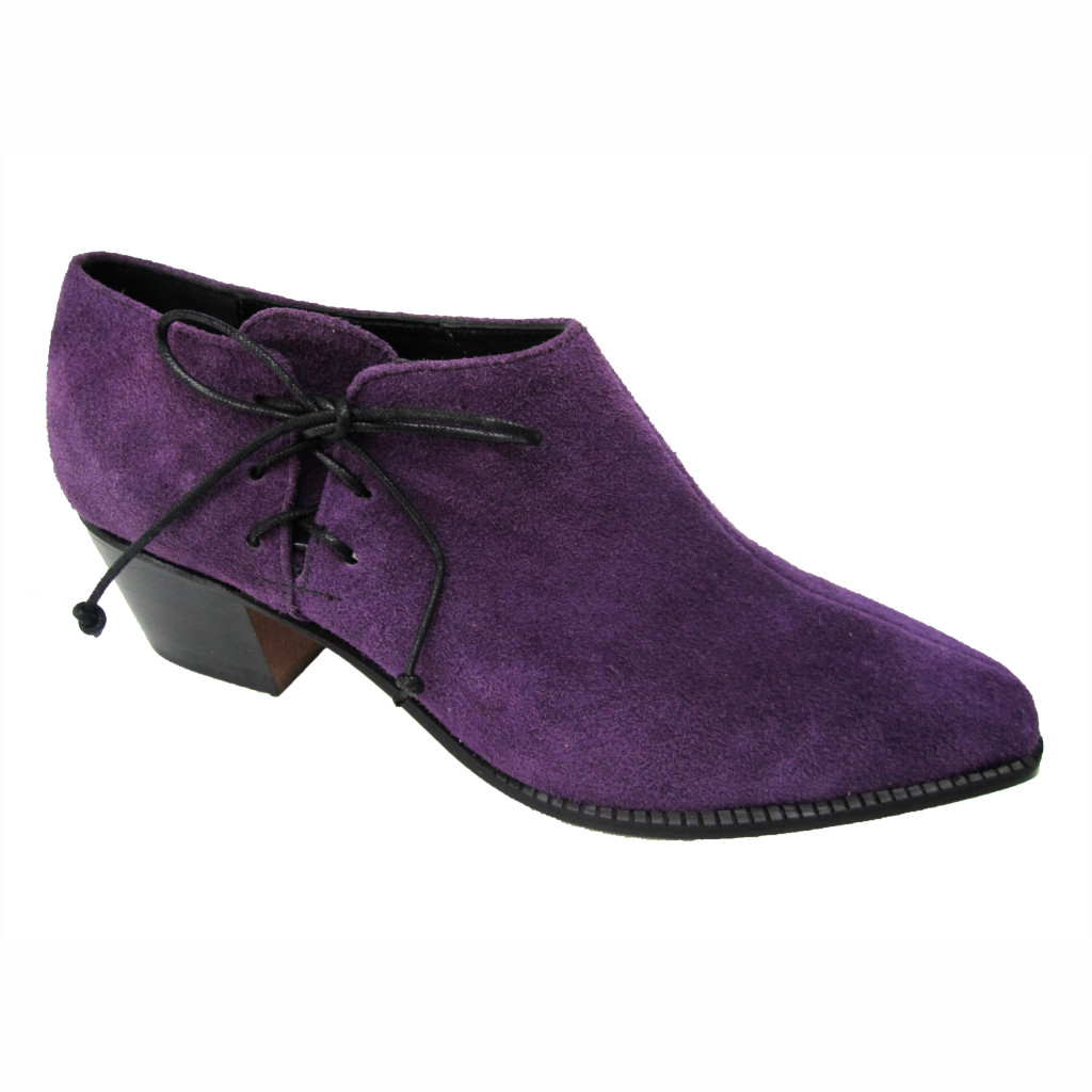 Millie + Cuban Purple Suede