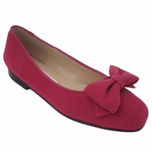 Margot + Carla Rose Suede + Piping + Ginney Bow