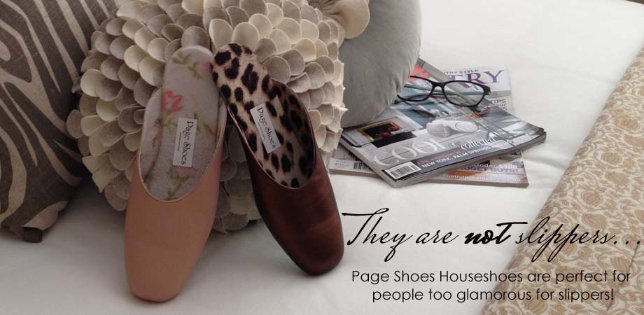 Landing page houseshoes